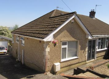 Thumbnail 3 bedroom semi-detached bungalow for sale in Park Close, Morriston, Swansea.