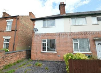 Thumbnail 2 bed end terrace house to rent in Park Road, Blaby, Leicester