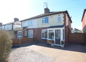 Thumbnail 3 bed semi-detached house for sale in Northfield Avenue, Wigston, Leicester, Leicestershire