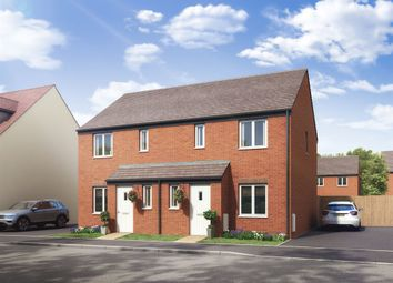 "Thumbnail 3 bed semi-detached house for sale in ""The Hanbury"" at Boughton Green Road, Northampton"