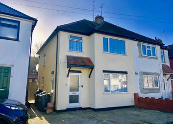 Thumbnail 3 bed semi-detached house to rent in Thirlstone Road, Luton