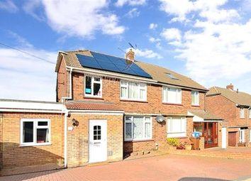 Thumbnail 4 bed semi-detached house for sale in Snodhurst Avenue, Chatham, Kent