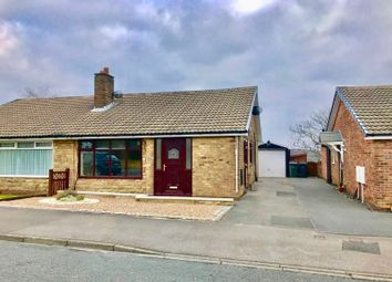 Thumbnail 2 bed semi-detached bungalow for sale in Wharfedale Rise, Tingley, Wakefield