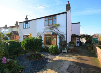 Thumbnail 3 bed semi-detached house for sale in The Street, Blundeston, Suffolk