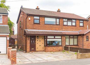 Thumbnail 3 bed semi-detached house for sale in Rowan Avenue, Lowton, Warrington