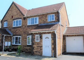 Thumbnail 3 bed semi-detached house for sale in Yarbury Way, Weston-Super-Mare