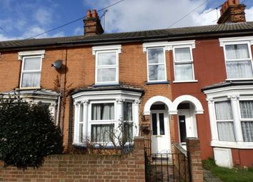 Thumbnail 3 bed terraced house for sale in Faraday Road, Ipswich, Suffolk