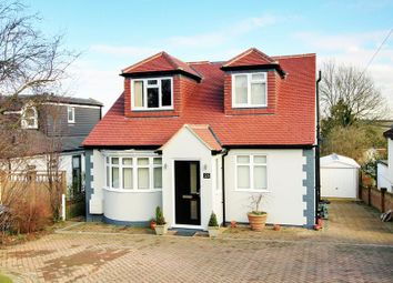Thumbnail 4 bed detached bungalow for sale in Northaw Road East, Cuffley, Potters Bar
