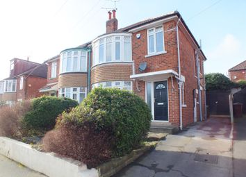 Thumbnail 3 bed semi-detached house for sale in Bowood Avenue, Meanwood, Leeds