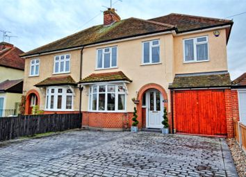Thumbnail 3 bedroom semi-detached house for sale in Dorset Avenue, Chelmsford, Essex
