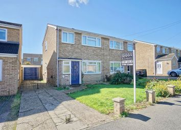 Thumbnail 3 bed semi-detached house for sale in Shakespeare Road, Eaton Socon, St. Neots