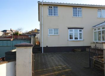 Thumbnail 3 bed semi-detached house for sale in Pocohontas Crescent, Indian Queens, St. Columb, Cornwall