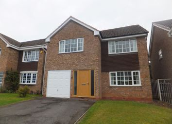 Thumbnail 4 bed detached house for sale in Arlescote Close, Four Oaks, Sutton Coldfield