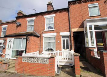 Thumbnail 3 bed terraced house for sale in Pelham Road, Norwich