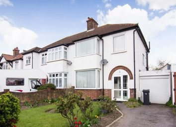 Thumbnail 3 bed semi-detached house for sale in Warren Drive North, Surbiton