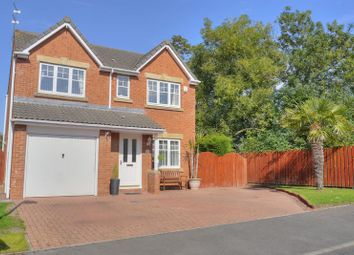 Thumbnail 4 bedroom detached house for sale in Edinburgh Drive, Bedlington