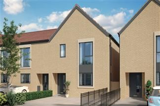 Thumbnail 3 bed terraced house for sale in Tadpole Rise, Swindon