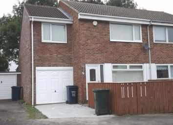 Thumbnail 4 bed semi-detached house for sale in Rawlston Way, Newcastle Upon Tyne