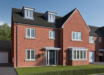 "Thumbnail 5 bedroom detached house for sale in ""The Colcutt"" at Roecliffe Lane, Boroughbridge, York"