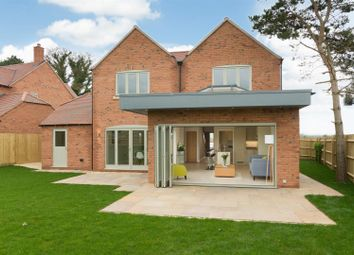 Thumbnail 4 bed detached house for sale in Goldicote Road, Loxley, Warwick