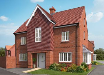 "Thumbnail 4 bed detached house for sale in ""The Heathfield"" at Boorley Green, Winchester Road, Botley, Southampton, Botley"