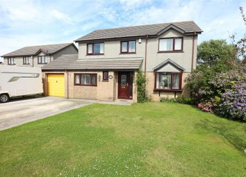 Thumbnail 4 bed detached house for sale in Merrits Way, Pool, Cornwall