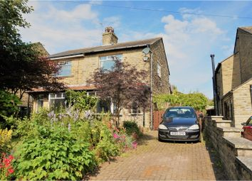 Thumbnail 3 bed semi-detached house for sale in Shelf Hall Lane, Halifax