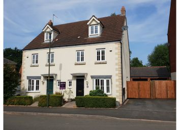 Thumbnail 4 bed semi-detached house for sale in Royal Worcester Crescent, Bromsgrove