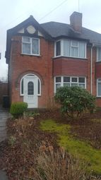 Thumbnail 3 bed semi-detached house to rent in Beaufort Avenue, Birmingham