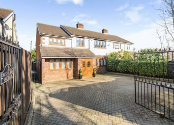 Thumbnail 4 bed semi-detached house for sale in Abridge Road, Theydon Bois, Epping