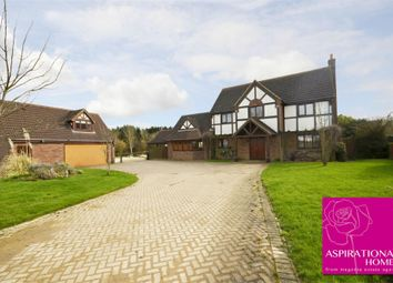 Thumbnail 5 bed detached house to rent in Coales Lodge, Thrapston, Northamptonshire
