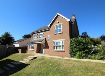 Thumbnail 4 bed detached house for sale in School Gardens, Brecon