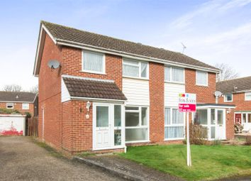 Thumbnail 3 bed semi-detached house for sale in Whyteways, Boyatt Wood, Eastleigh
