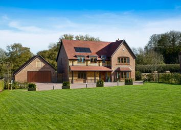 Thumbnail 5 bedroom detached house for sale in Trinity Hill, Medstead