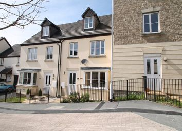 Thumbnail 3 bed town house for sale in Triumphal Crescent, Plympton, Plymouth
