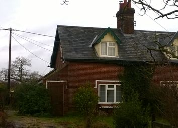 Thumbnail 2 bedroom semi-detached house to rent in Arminghall Lane, Arminghall, Norwich