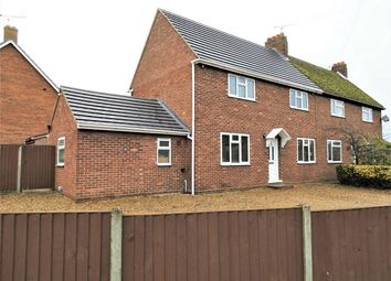 Thumbnail 4 bed semi-detached house for sale in Hall Close, Southery, Downham Market