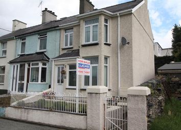 Thumbnail 2 bed end terrace house for sale in Carneddi Road, Carneddi, Bethesda, Bangor