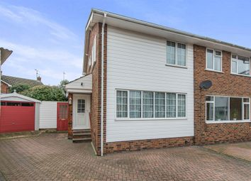 Thumbnail 3 bed semi-detached house for sale in Chartwell Grove, Sittingbourne