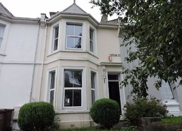 Thumbnail 3 bed terraced house to rent in Portland Road, Stoke, Plymouth