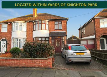 Thumbnail 3 bed semi-detached house for sale in Woodbank Road, Knighton, Leicester