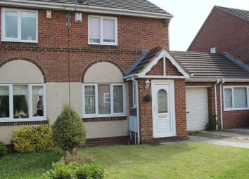 Thumbnail 2 bed semi-detached house for sale in Redstart Close, Hartlepool