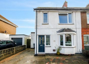 Thumbnail 3 bed end terrace house for sale in Leconfield Road, Lancing