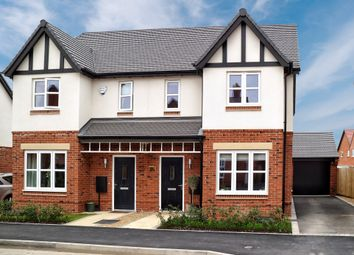 Thumbnail 3 bed semi-detached house for sale in Gardiner Road, Kineton, Warwick