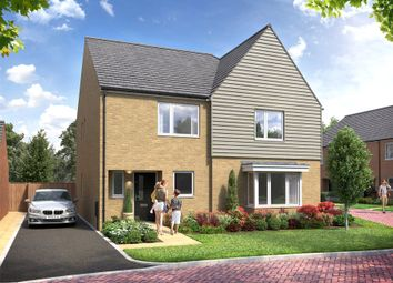 Thumbnail 3 bed semi-detached house for sale in Rowtown, Surrey