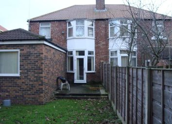 Thumbnail 4 bed property to rent in Arnfield Road, Withington, Manchester