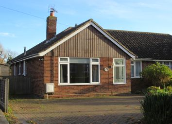 Thumbnail 2 bed semi-detached bungalow to rent in Chequer Lane, Ash