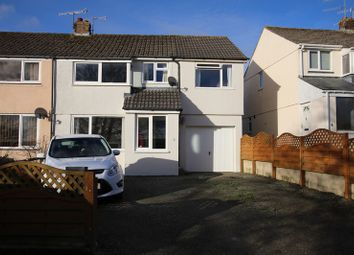 Thumbnail 4 bed semi-detached house for sale in Kay Crescent, Bodmin, Cornwall