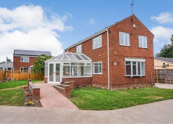Thumbnail 4 bed detached house for sale in Marsh End, Knottingley