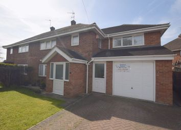 Thumbnail 4 bedroom semi-detached house for sale in St Marys Avenue, Bletchley, Milton Keynes